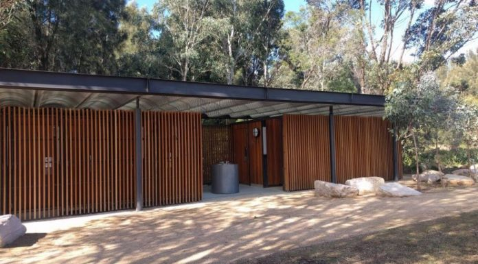 Domain Creek playground Parramatta Park