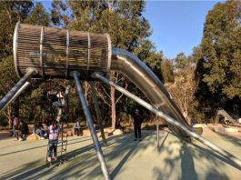 Domain Creek playground Parramatta Park