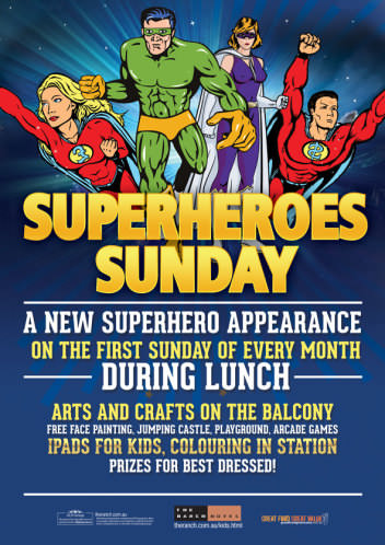 Superhero Sundays The Ranch
