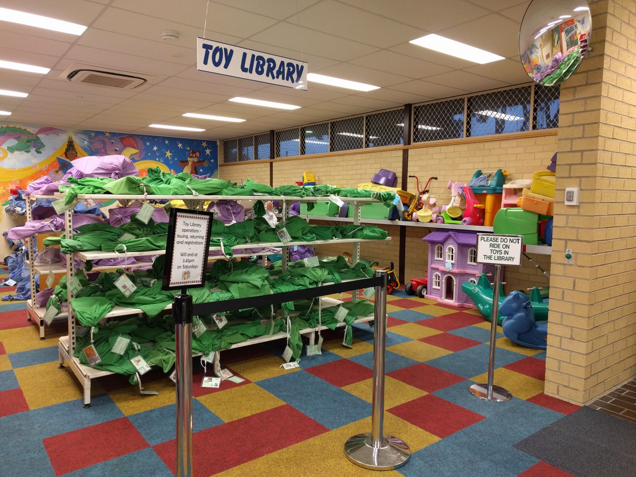 Wentworthville Library toy libraries