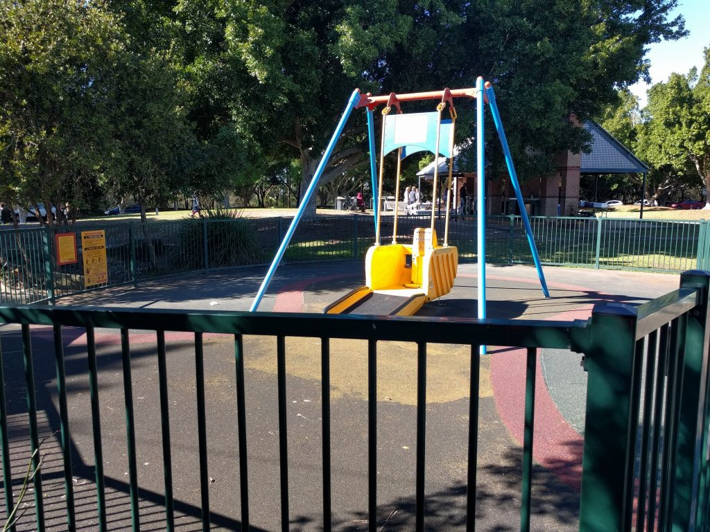 Bicentennial Park: Village Green playground