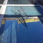 Water feature at The Concourse, Chatswood