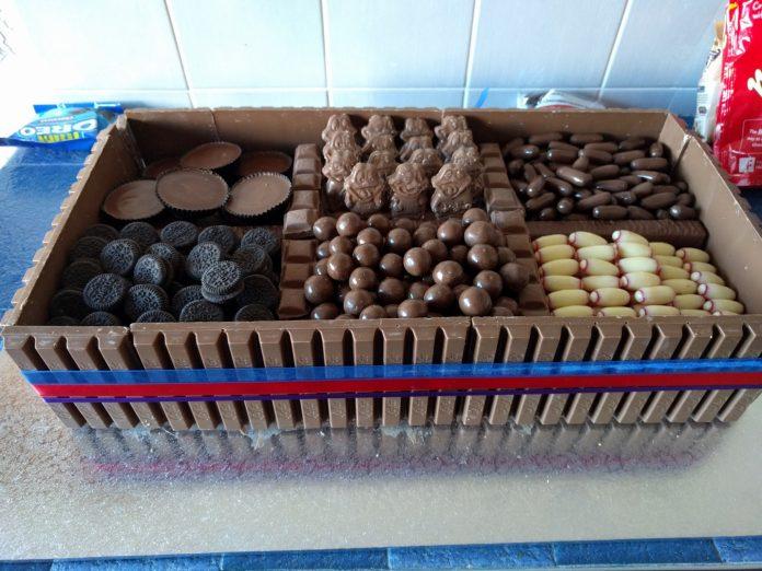 Box of Chocolate Cake