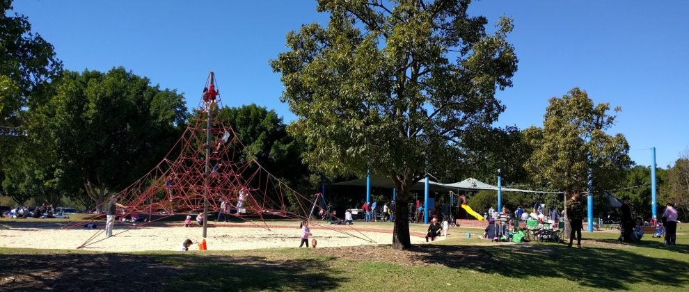 Bicentennial Park Village Green Playground