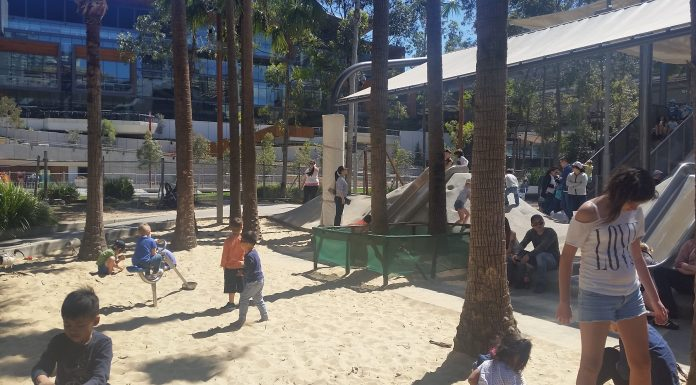 Sand Pit at Darling Quarter