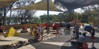 Putney Park Toddler Splash pool