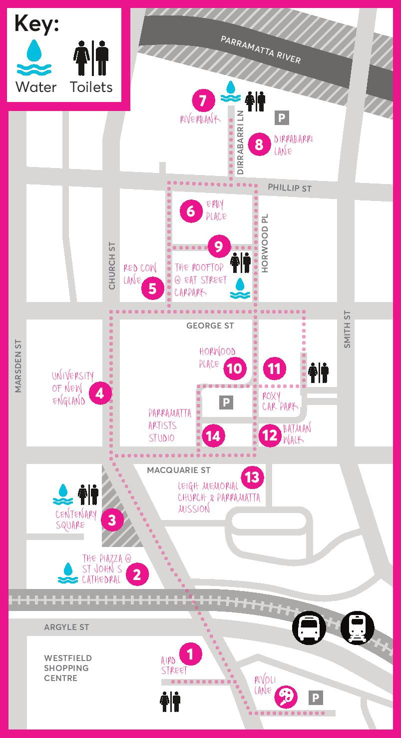 Parramatta Lanes Guide Little Laners