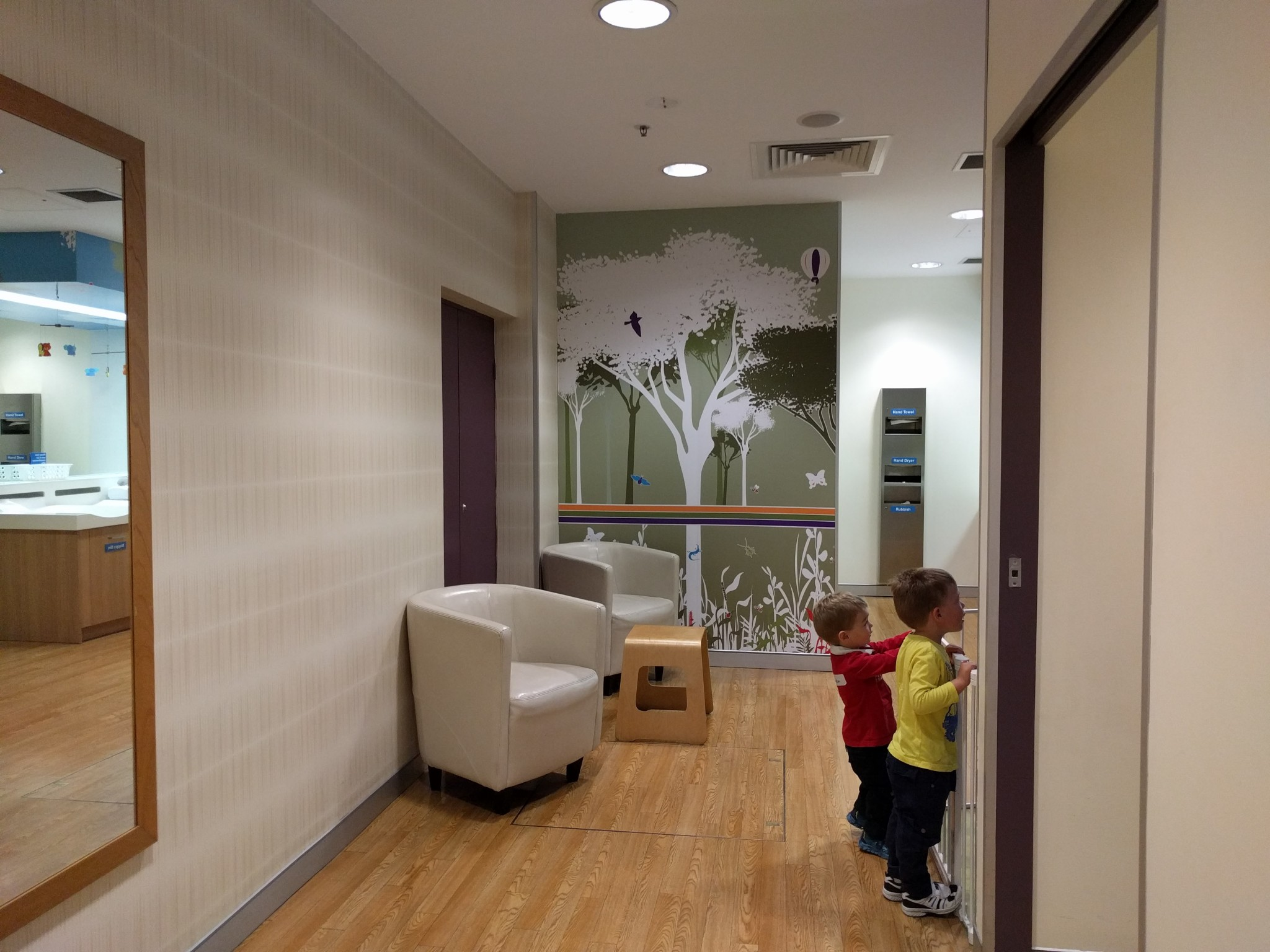 Stockland Baulkham Hills parents room