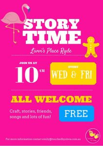 Storytime at Livvi's Place Ryde (Wednesday and Friday) | Yamble Reserve @ Yamble Reserve | Ryde | New South Wales | Australia