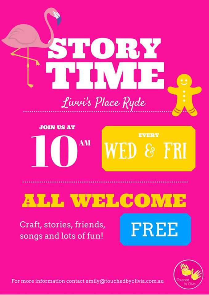 Livvi's Place Ryde Storytime