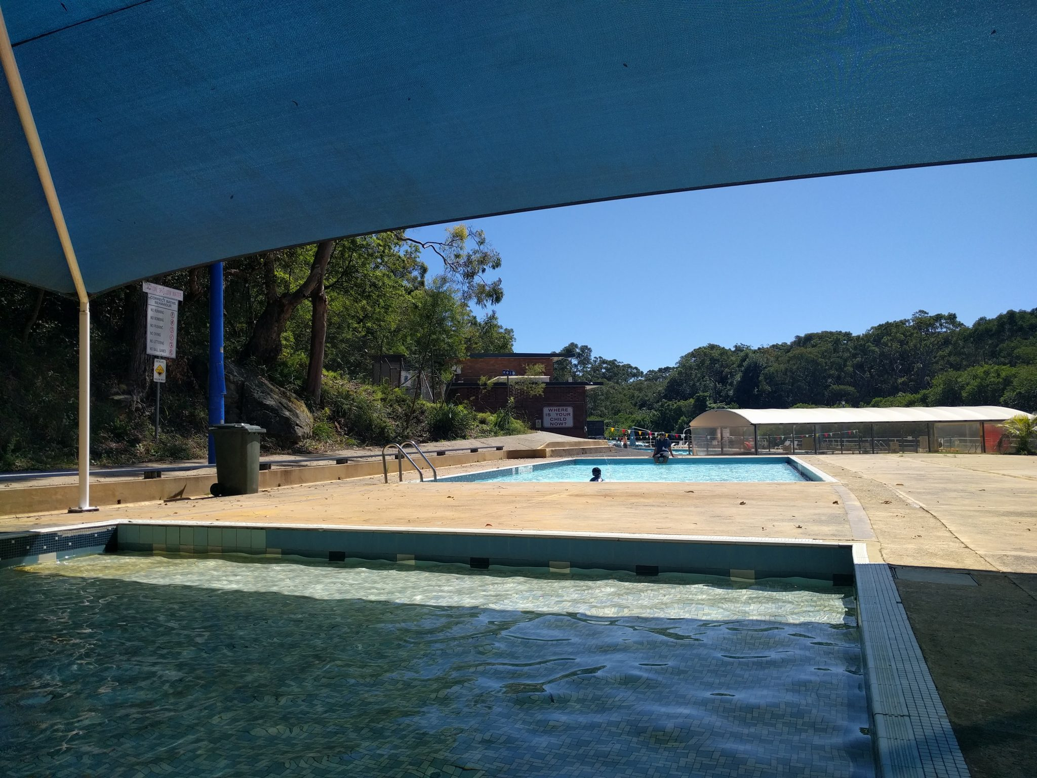 Kid Friendly Local Swimming Pool