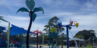 Birrong Leisure Centre water fun