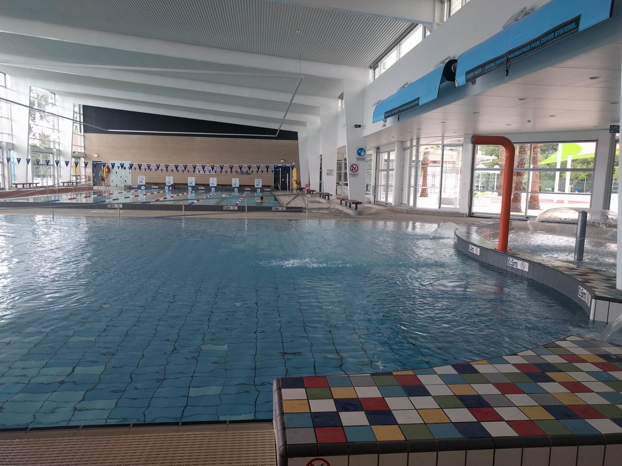Auburn ruth everuss aquatic centre lidcombe parraparents - Auburn swimming pool opening hours ...
