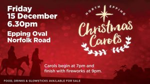 North Epping Christmas Carols | Epping Oval @ Epping Oval | Epping | New South Wales | Australia