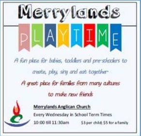Merrylands Anglican Church Playgroup