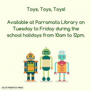 Holiday Play | Parramatta Library @ Parramatta Library | Parramatta | New South Wales | Australia