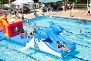 Giant Water Inflatable | Epping Aquatic Centre @ Epping Aquatic and Leisure Centre | Epping | New South Wales | Australia
