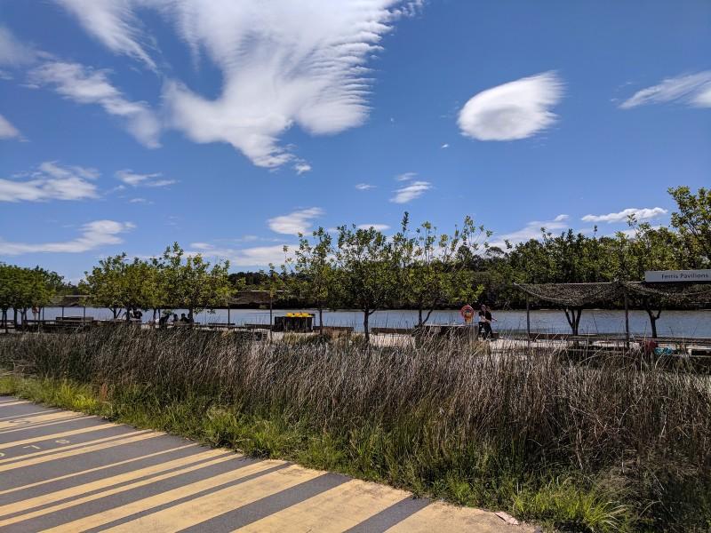 Blaxland Riverside Park Newington Sydney Olympic Park