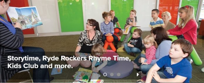 storytime ryde council