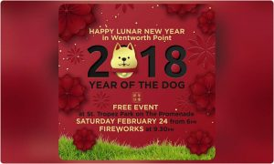 Lunar New Year Celebrations | Wentworth Point @ St. Tropez Park, Wentworth Point | Wentworth Point | New South Wales | Australia