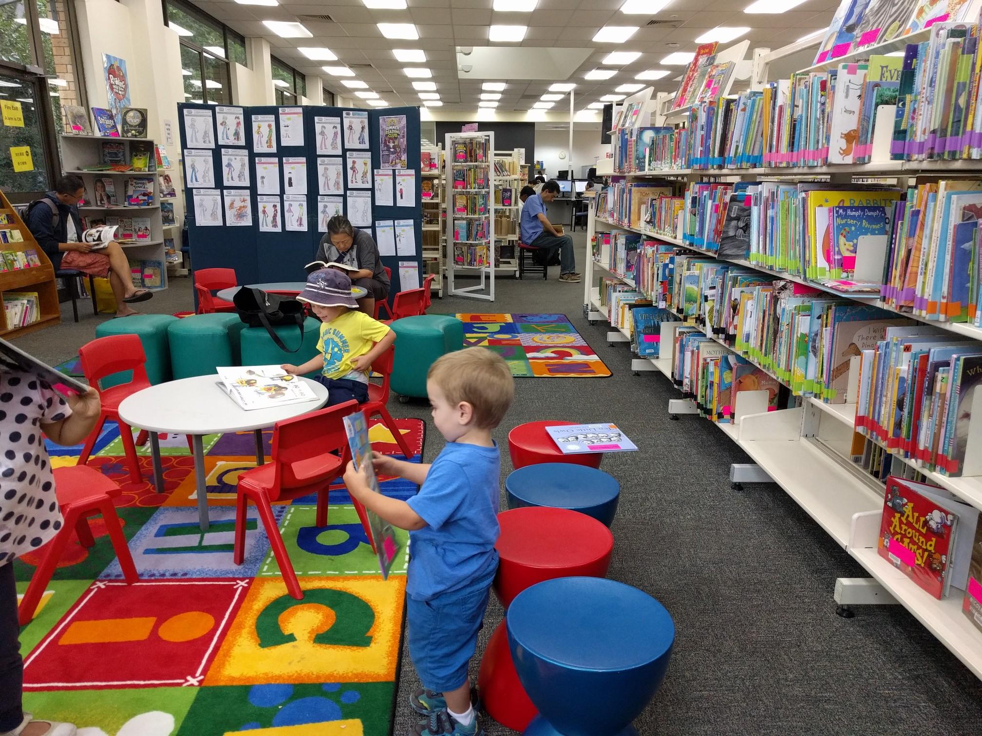 Kids Activities Parramatta Library