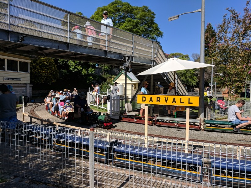 West Ryde Mini Trains