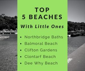 Favourite Sydney Beaches with Kids
