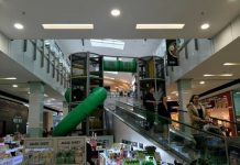 Rhodes Waterside Shopping Centre play area