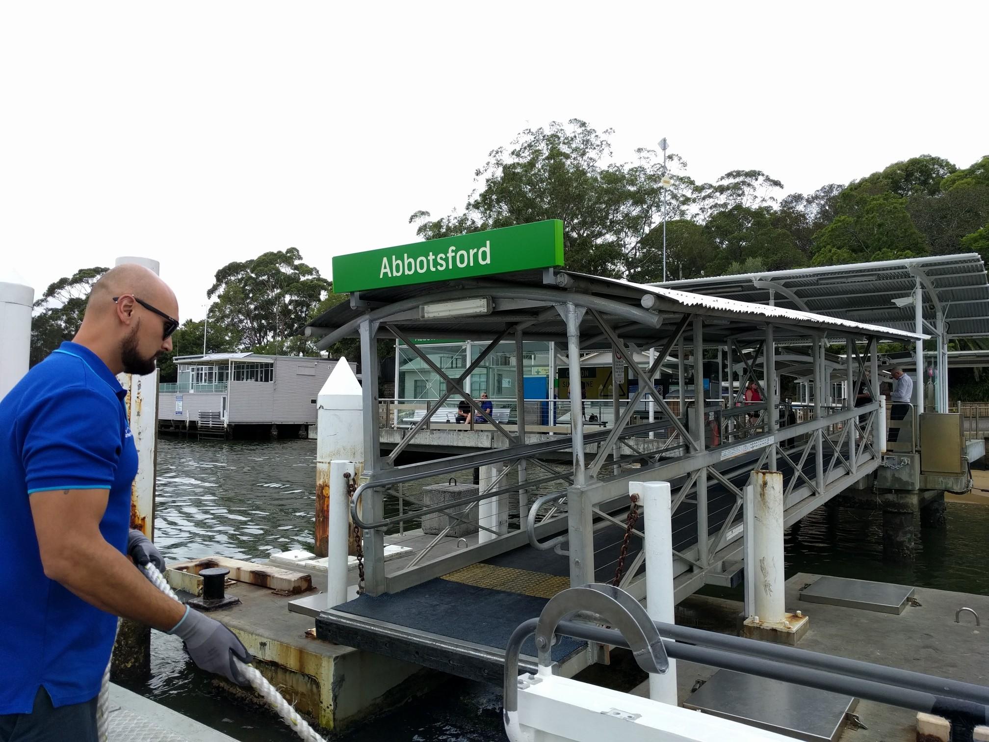 Abbotsford Wharf ferry adventures