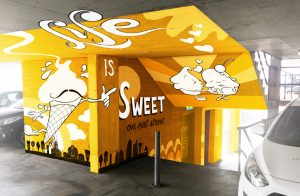 Life is sweet eat street party