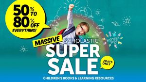 Scholastics Super Book Sale | Sydney Olympic Park @ Quaycentre in Sydney Olympic Park | Sydney Olympic Park | New South Wales | Australia
