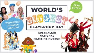 World's Biggest Playgroup Day @ Australian National Maritime Museum | Sydney | New South Wales | Australia