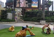 Play Area at Top Ryde City Piazza + Large Screen