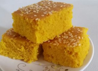 Sfouf Lebanese Vegan Tea Cake