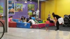 Toy Ryde City Soft Play area for 0-2 year old kids at Top Ryde
