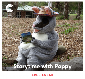Bush School Storytime with Poppy the Possum | Central Gardens @ Central Gardens at the Bush School (near play equipment on Paton St side) | Merrylands West | New South Wales | Australia