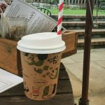 Kid-sized milkshake at The Gingerbread House in Katoomba