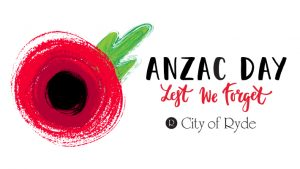 ANZAC Day Commemoration Service | West Ryde @ ANZAC Park | West Ryde | New South Wales | Australia
