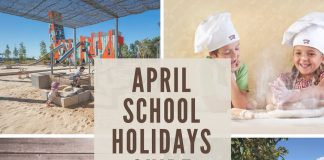 April school holidays guide 2017