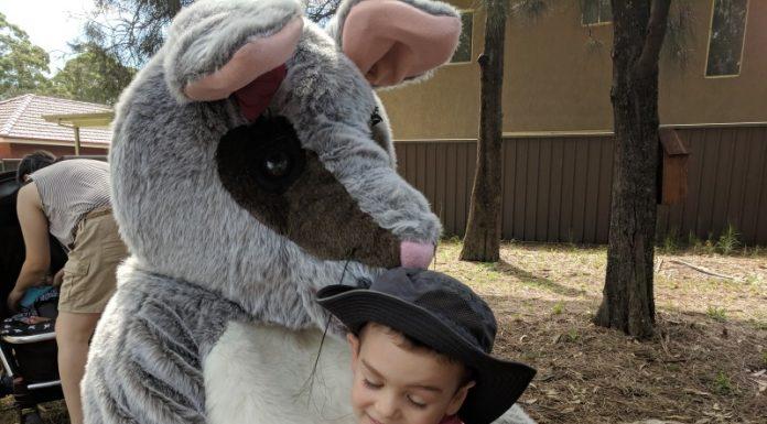 Bush School Storytime with Poppy the Possum