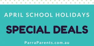 April School Holiday Specials