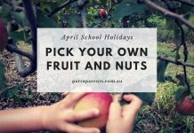 pick your own fruit and nuts