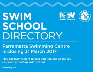 Swimming in Parramatta
