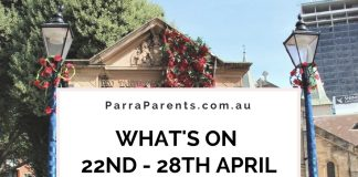 What on 22nd to 28th April