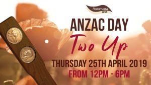 ANZAC Day 2Up | Parramatta RSL @ Parramatta RSL | Parramatta | New South Wales | Australia