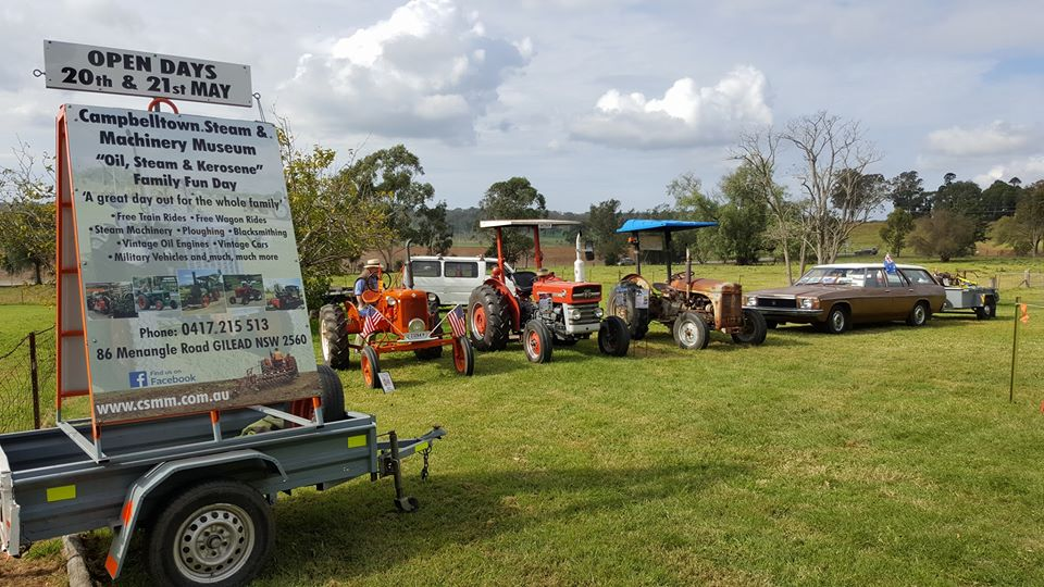 Oil, Steam & Kerosene Family Fun Days | Campbelltown Steam