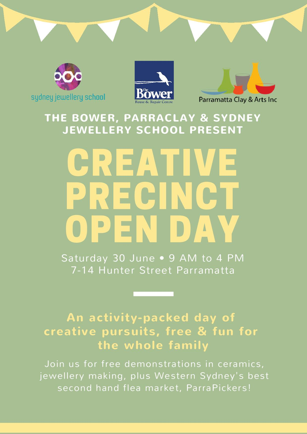 ParraPickers Creative Precinct Open Day