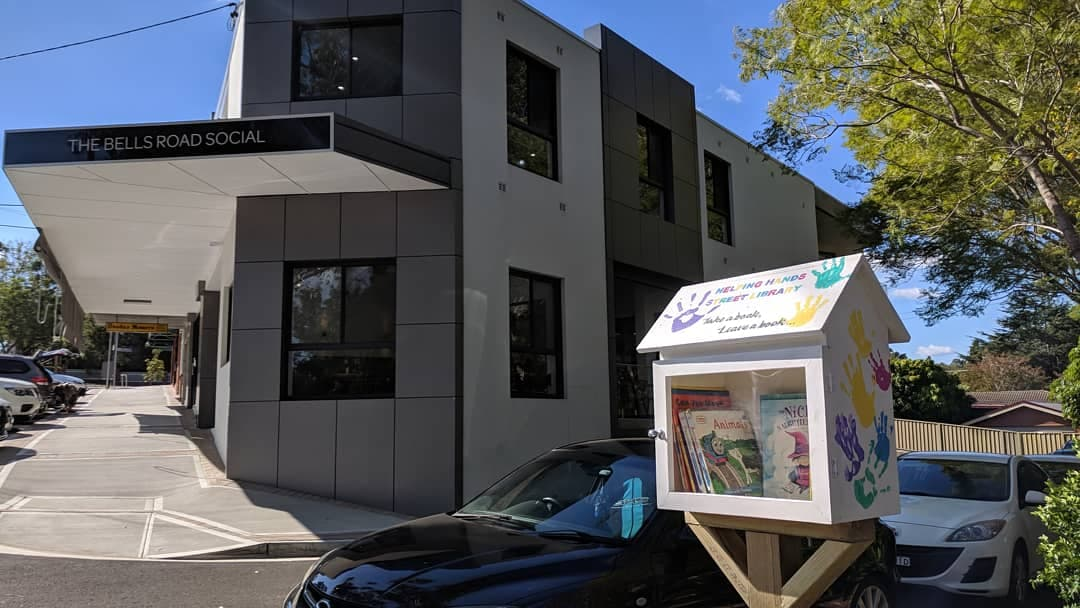 Fred Robertson Reserve Street Library