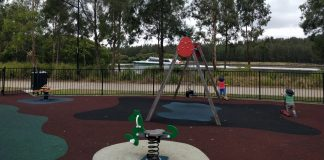 River Park free fenced playgrounds and play areas