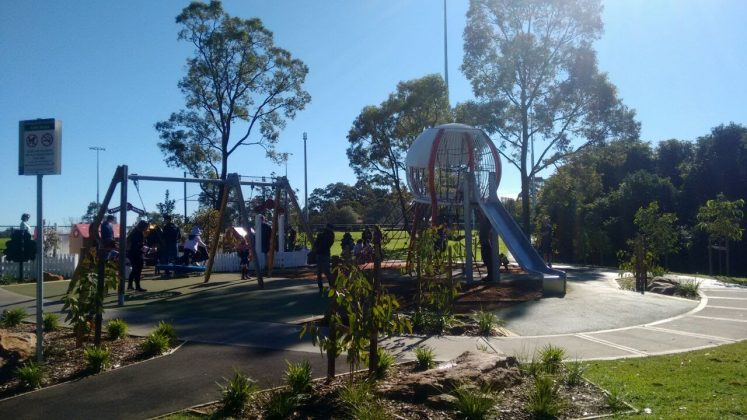Golden Jubilee Field Playground